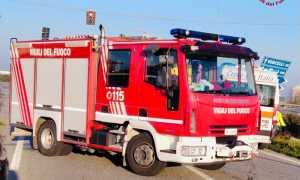 vigili del fuoco camion